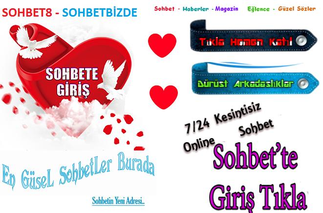Sohbet8 Chat Sohbet Sitesi SohbetBizde